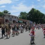 2014-07-04-NHS-Band-bikes